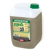 Антисептик для защиты древесины в контакте с грунтом и водой.